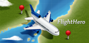 iOS http://j.mp/FLHERO & Android http://j.mp/FLIHERO - Flight Status Tracking, Airport Board, Weather. Largest airports(16227) and airlines(1550) coverage